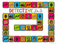 Create Your Own Game Board *Editable Detectives Themed*