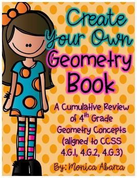 Create Your Own Geometry Book {CCSS Aligned - 4th Grade}