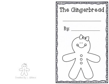 Create Your Own Gingerbread Man Story