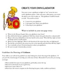 Create Your Own Gladiator