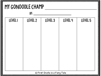 Create Your Own GoNoodle Champ