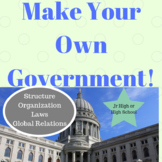 Create Your Own Government Structure and Country Civics Activity Project
