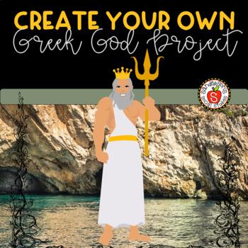 Greek Mythology: Create Your Own Greek God Project