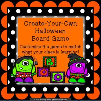 Customizable Halloween Game