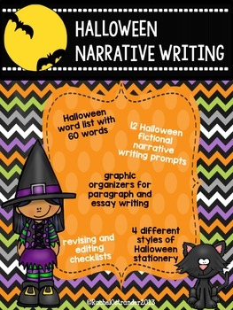 Halloween Narrative Writing