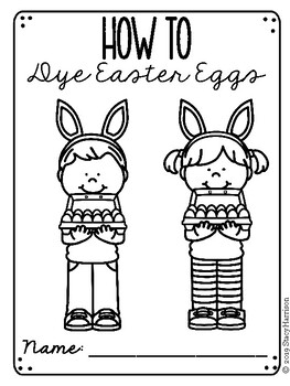 Create Your Own: How to Dye Easter Eggs Booklet