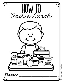 Create Your Own: How to Pack a Lunch Booklet