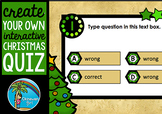 Create Your Own Interactive Christmas Quiz in Powerpoint