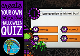 Create Your Own Interactive Halloween Quiz in Powerpoint