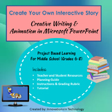 Create Your Own Interactive Story Creative Writing and Technology Animation