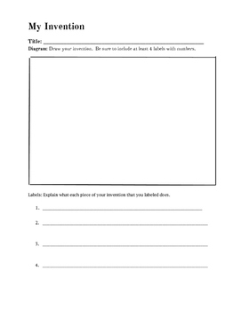 create your own invention intro to science and the scientific method