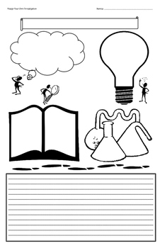 Create Your Own Investigation Graphic Organizer