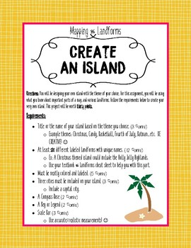 Create Your Own Island - Mapping