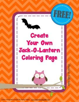 FREE Halloween Fun! Create Your Own Jack-O-Lantern Coloring Page