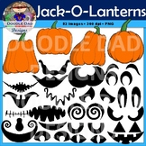 Create Your Own Jack-O-Lantern Clip Art (Halloween, Pumpki