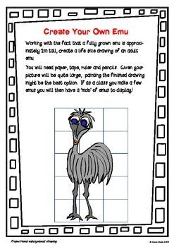 Create Your Own Life Sized Australian Emu!