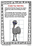 Create Your Own Life Sized Australian Emu!