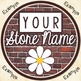 Create Your Own Logo - Brick Theme (8 to choose from!)