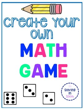 Create Your Own Math Game
