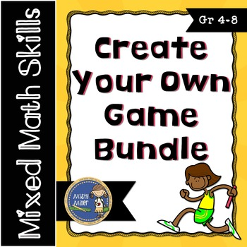 Create Your Own Math Game Bundle
