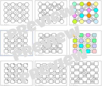 Create Your Own Maze Editable Template Bundle
