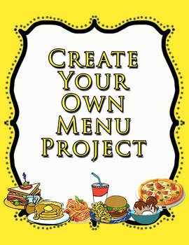 Create Your Own Menu Project