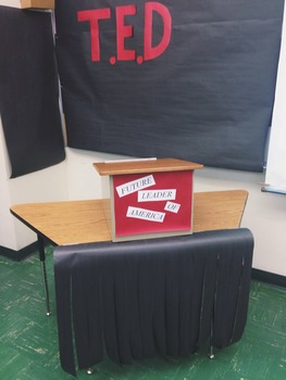 Create Your Own Middle School TED Talk Conference