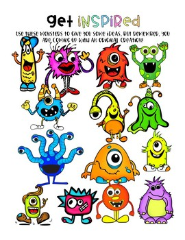 Fun Descriptive Writing Activity: Create Your Own Monster