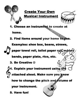 Create Your Own Musical Instrument