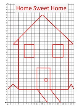 Mystery Picture {Coordinate Graphing}