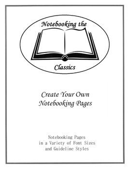 Create Your Own Notebooking Pages