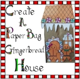 Christmas Crafts - Create Your Own Paper Bag Gingerbread House