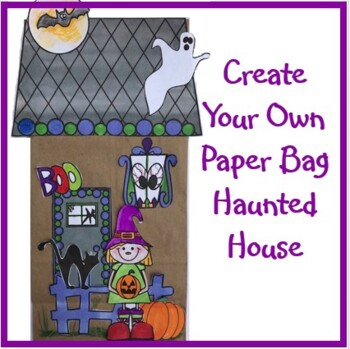 Hallowe'en Crafts - Create Your Own Paper Bag Haunted House