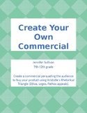 Create Your Own Persuasive Commercial