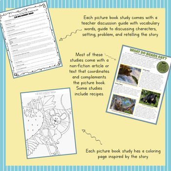 Create Your Own Picture Book Study BUNDLE- You Pick 10!