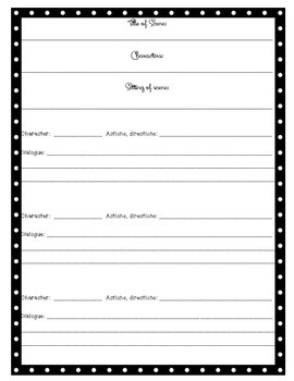 Create Your Own Play Reader's Theater