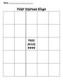 Create Your Own Polar Express Bingo