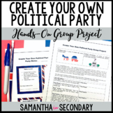Create Your Own Political Party Project! Your students will LOVE this!