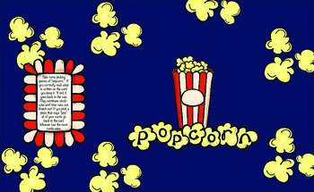 Create Your Own Popcorn Game
