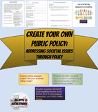 Create Your Own Public Policy: Addressing Societal Issues