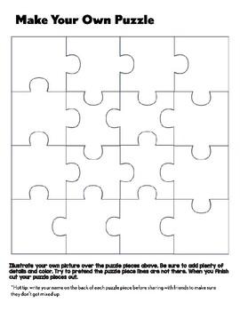 create your own puzzle by caren lewis teachers pay teachers