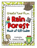 Create Your Own QR Code Book - {The Rain Forest}