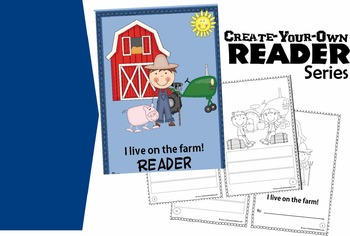 Create-Your-Own Reader - I Live on the Farm (Sentences)
