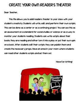 Create Your Own Readers Theater
