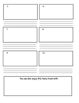 Create Your Own Recipe - Procedural Text