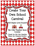 Create Your Own School Carnival Project