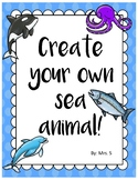 Create Your Own Sea Animal
