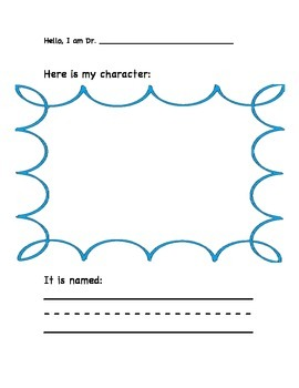 Create Your Own Seuss Character
