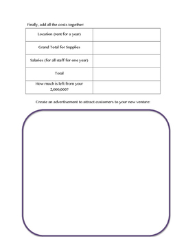 Create Your Dream Store: Math Project with Decimal Calculations and Budgeting