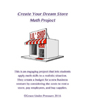 Create Your Dream Store: Math Project with Decimal Calcula